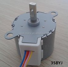 12v 35byj412b stepper gear motor with reduction ratio 1/42.5