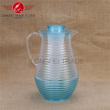 2.6L Clear plasticfruit infuser water pitcher