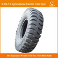 Chinese brand 5.50-16 Agricultural tractor front Tyre with good quality