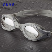 2017 Hot Fashion Polarized and Mirror Coating swim goggles with nose piece