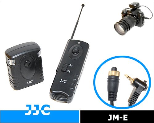 JJC JM-D Radio frequency wilress remote control for OLYMPUS RM-CB1 for Olympus E1 E3 E5 E10 E20