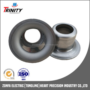 Grease-proof idler roller components galvanized bearing end cap TK6203-89