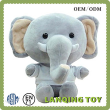 Manufacture 35CM Lovely Stuffed Plush Toy Elephant