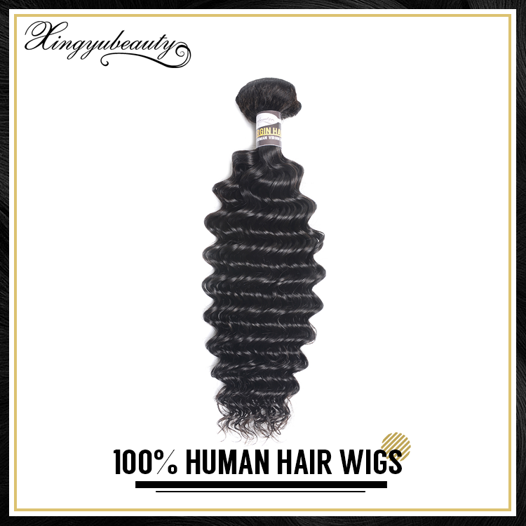 Wholesale deep wave, deep wave 100% human hair, multi-colored hair extensions