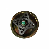 EC210B EC240B EC290B fan bracket pulley assy 20459864 993853 20999729 20450754