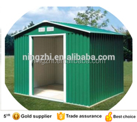 garden shed in yard / outdoor storage shed / hot selling 10x8ft shed