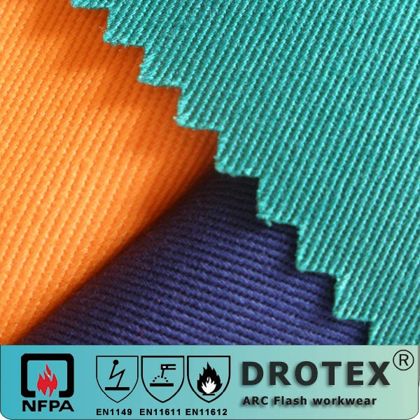 EN11611 flame retardant fabric yard for clothing
