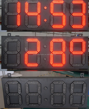 Gas station 4/5 digit LED gas price display/LED oil fuel price sign panel board