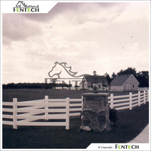 Fentech White Plastic Fencing for Tree Guards, Farm, Horse Field