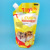 Stand up pouch with corner spout for pet detergent/Pet prodocts packaging bags