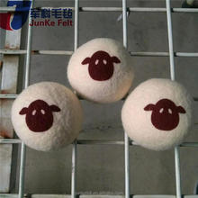 Plastic cotton bag wool dryer balls for wholesales