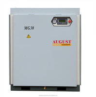 MG30C 30Kw 40Hp 13Bar 1.3 Mpa 189PSIG AUGUST stationary air cooled screw air compressor Best Bargain Offer