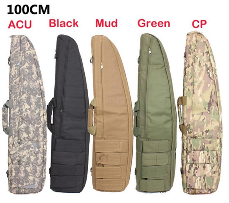 wholesale outdoor classical men 4-mag pouch shockproof airsoft gun bag tactical military hunting rifle case tactical gun bag