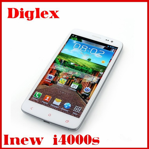 Cheap inew i4000s 2GB Rom 16GB Rom Android 4.2 Mtk6592 1.7ghz 5INCH Mobile Phone