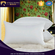 hotel bed linen white custom microfiber hilton hotel throw pillows wholesale