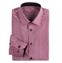 Manufactures Dress Shirt For Men Fancy Plaid Design Men Clothes Classic