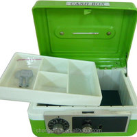 Portable Cash Box With Key Lock