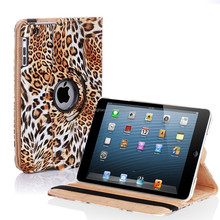 "Leopard printing 11"" inch Leather material tablet universal case"