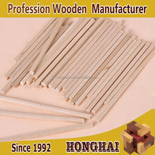 Wholesale a large number of building model materials birch cylindrical round sticks solid wood sticks sticks
