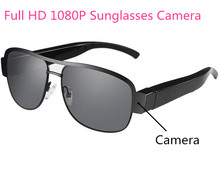 Factory Newest Full HD 1080P Sunglasses Camera Eyewear DVR Video Camcorder Spy Eyeglsses Mini Camera glasses Hidden Camera