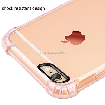 For iphone6 6s plus case ultra slim 2017 fashion transparent TPU for iphone case cover