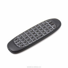 G64 Back Light Air MouseWireless Android Remote 2.4G Doule-sided Keyboard 3D Somatic for PC Android TV Box Tablet Game Player