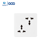 GOG table power 10A 2 gang 6 pin MF socket