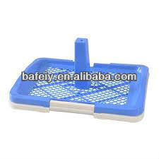 plastic dog toilet/pet tray for male dog