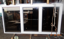 cheap house aluminum window with mosquito net 2015