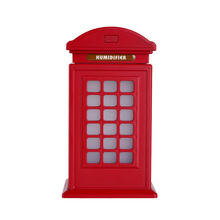 creative decorative telephone booth classic ultrasonic cool mist humidifier