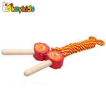 2016 wholesale baby wooden jumping toy, popular kids wooden jumping toy, hot sale wooden jumping toy W01A133