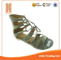Beautiful attractive lady sandal small shoes