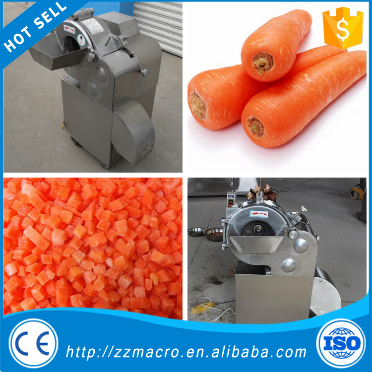 strawberry dicing machine/potato cuber/ industrial vegetable cutter on sale