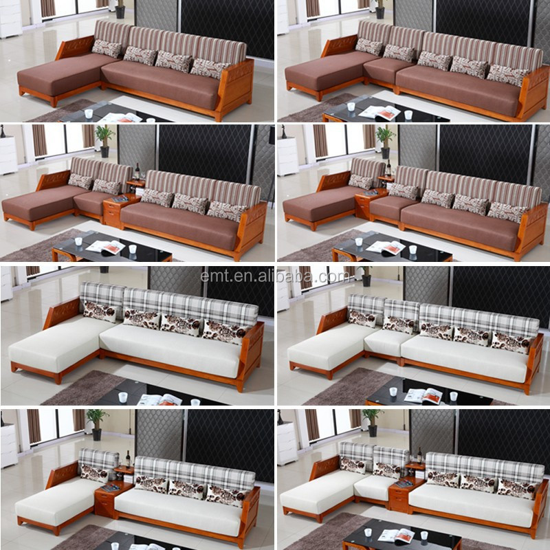 Solid Wood L Shape Fabric Coner Sofa 2017 Latest Sofa Design Living Room  Sofa   Buy 2017 Latest Sofa Design Living Room Sofa,Sofa Fabric Velour  Fabric ... Part 65