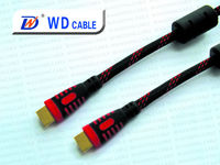 Wholesale high end flat hdmi cable/avi to hdmi cable
