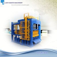 WANTE MACHINERY moving hollow block machinery for making hollow blocks
