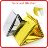 waterproof thermal reflective survival mylar emergency blanket