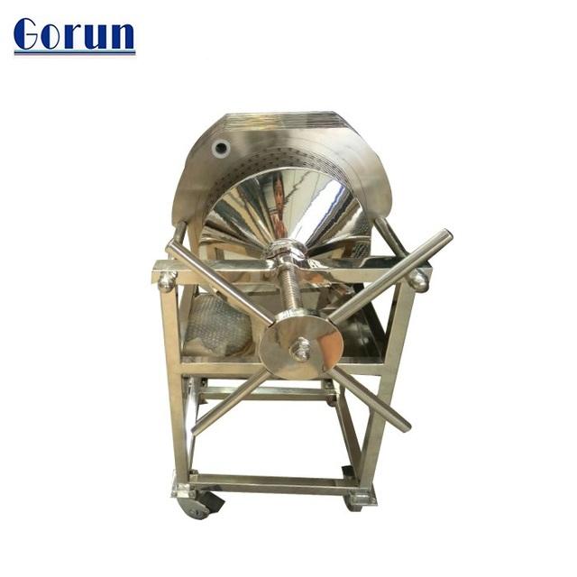 Plate frame filter press vertical filter housing