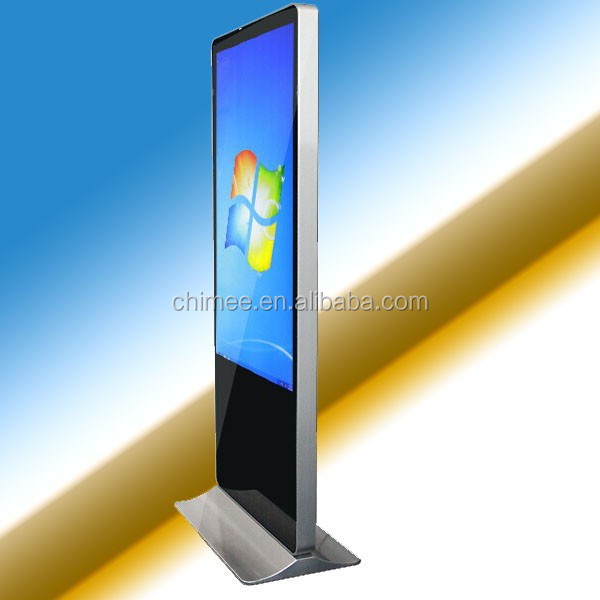 2015 hot sell slim hd touch screen self-service terminal kiosk touch screen pc
