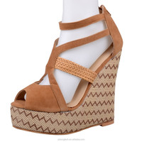 JUSITY 2013 new design fashion importer exporter women shoes wedges girls sandals