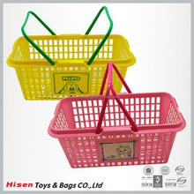 Cheap Small Plastic Fruit Basket with Handle