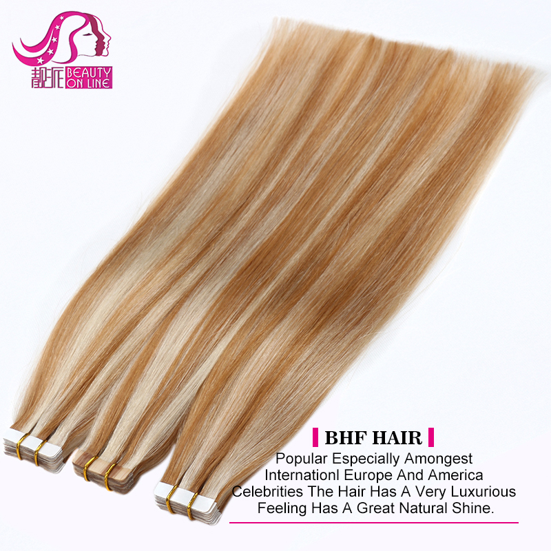8--30 inch Remy African American Virgin Remy Micro Heart Mini Tape Hair Extension