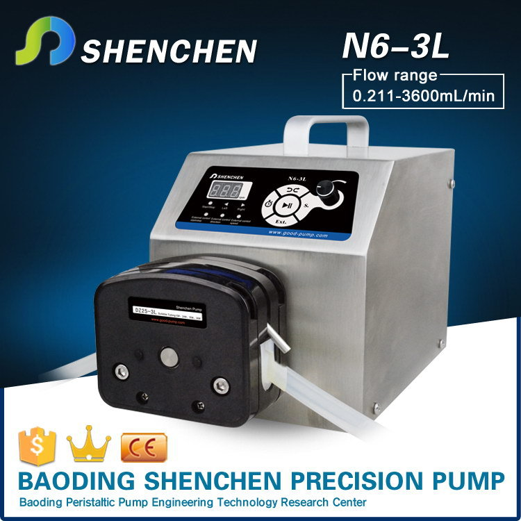 Chemical dosing mini pump,standard direct flow pump for industrial,multi channels tranfering pump for dairy