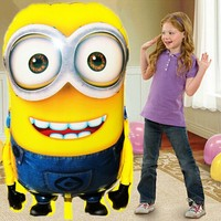 92*65cm Lage Size Minions Balloons Foil Ball Classic Toys for Christmas Birthday Party Decoration