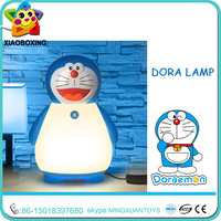 Promotion product table lamp with base metal switch