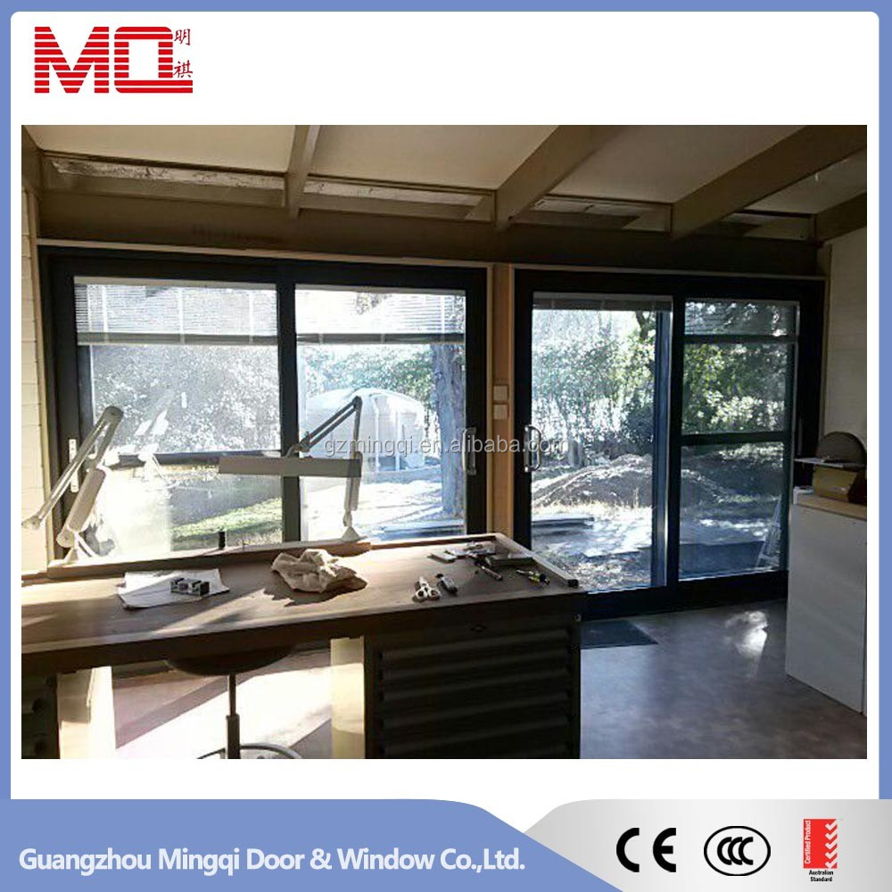 Guangzhou cheap sliding doors and windows house design aluminum doors