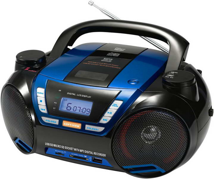 AM FM retro radio cd dvd walkman portable cd boombox record player