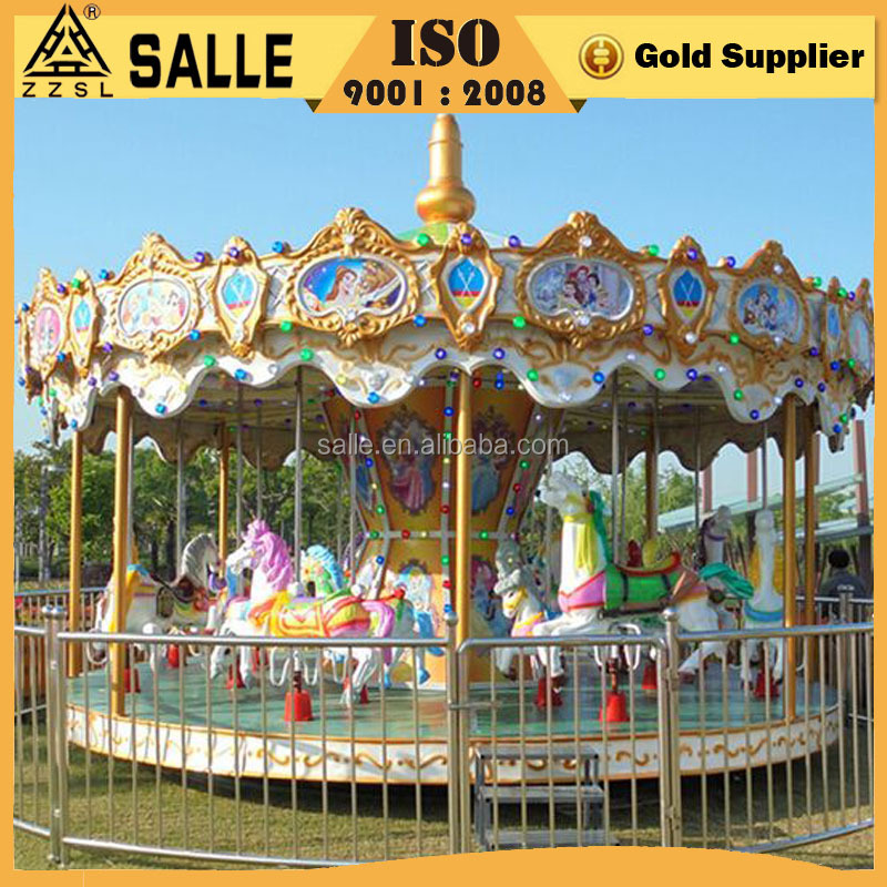 China Horse Carousel Children Merry Go Round for Sale
