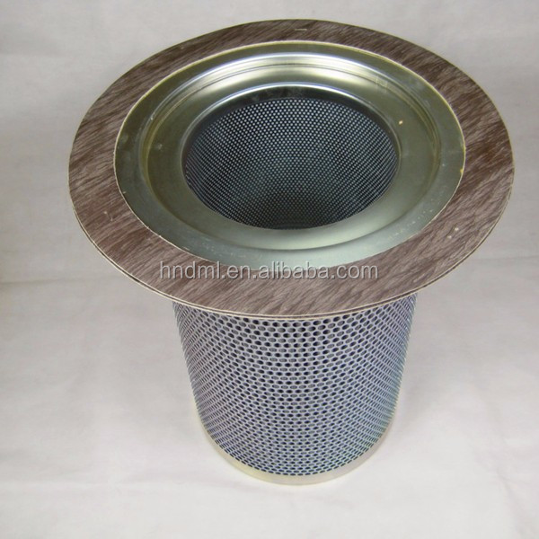 oil and gas separator filter element 92765783 gas seperation filter element, stainless steel filter cartridge