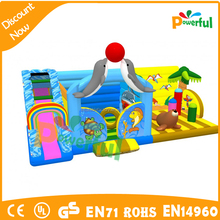 water fun city dolphin playground inflatable children playground